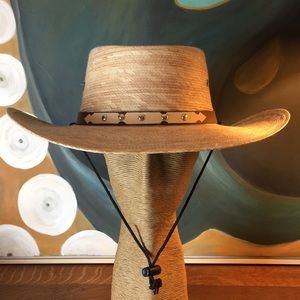 Natural Palm Fiber Gaucho Hat